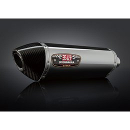 Stainless Steel Sleeve Muffler With Carbon Fiber Tip Yoshimura R-77 Slip-on Muffler Stainless Stainless Carbon For Suz Gsx650f 08-10