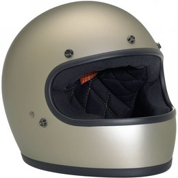 Flat Titanium Biltwell Mens Gringo Full Face Helmet 2014