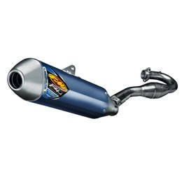 FMF Factory 4.1 RCT Full Exhaust System Titanium Blue For KTM 450 SMR/XC-F 13-14