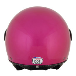 AFX Womens FX-33 FX33 Open Face Scooter Helmet Pink