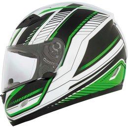 Cyber US-39 Data Full Face Helmet Green