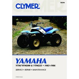Clymer Repair Manual For Yamaha ATV YTM/FM200 YTM225 83-86