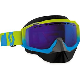 Scott USA Hustle SX Snowcross Anti-Fog Goggles Blue