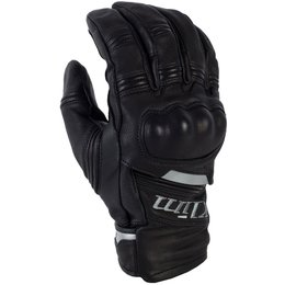 Quest Mens Gore-Tex Leather Breathable Short Gloves Black