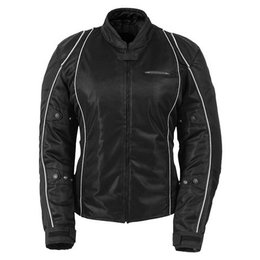 Black Fieldsheer Womens Breeze 3.0 Mesh Jacket