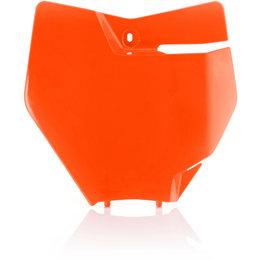 Acerbis Front Number Plate For KTM Orange 2421124617 Orange