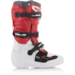 Alpinestars Youth Boys Tech 7S MX Motocross Offroad Riding Boots White