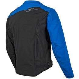 Speed & Strength Mens Hammer Down Textile Jacket Blue