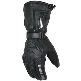 Black Mobile Warming Ltd Max Leather Gloves