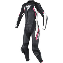 Dainese Womens Avro D2 2 Piece Leather Suit Black