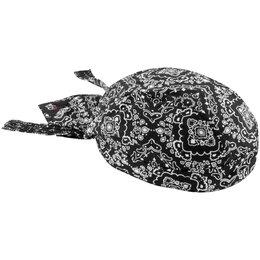 Black Paisley Zan Headgear Flydanna Headwrap 2013