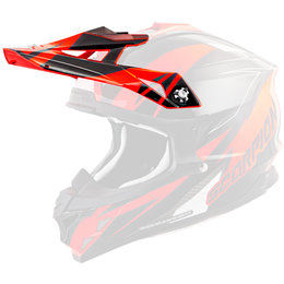 Scorpion VX-35 Krush Replacement Visor Peak MX/Offroad Helmet Accessory Orange