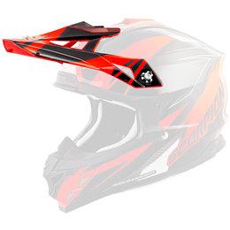 Scorpion VX-35 Krush Replacement Visor Peak MX/Offroad Helmet Accessory Orange