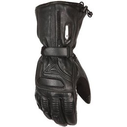 Black Mobile Warming Womens Ltd Max Leather Gloves