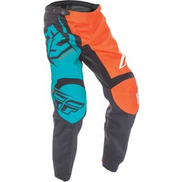 Fly Racing Youth Boys MX Offroad F-16 Riding Pants Orange