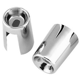 Chrome Bikers Choice Shock Stud Covers For Harley Fl Fx Fxwg