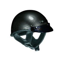 Carbon Fiber Look Vega Mens Xts Half Helmet 2014