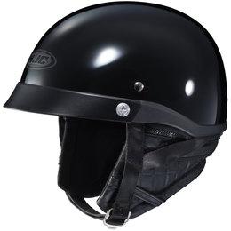 Black Hjc Cl-ironroad Half Helmet