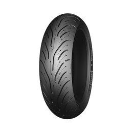 Michelin Pilot Road 4 GT Rear Motorcycle Tire 190-55/17 ZR 75W Unpainted