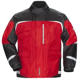 Red, Black Tour Master Mens Sentinel 2.0 Rain Jacket 2014 Red Black