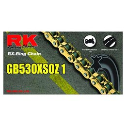 RK Chain GB 530 OZ1 O-Ring 116 Links Gold