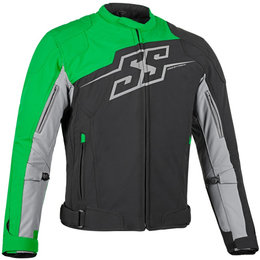 Speed & Strength Mens Hammer Down Textile Jacket Green