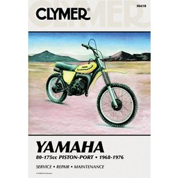 Clymer Repair Manual For Yamaha 80-175 Enduro MX 68-76
