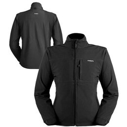 Black Mobile Warming Womens Classic Jacket