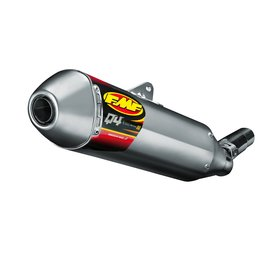 FMF Q4 Muffler Hex With Spark Arrestor Stainless Steel For Yamaha YZ450F 2014