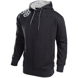 Troy Lee Designs Mens Freestyle Cotton Blend Pullover Hoodie Black