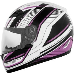 Cyber Womens US-39 Data Full Face Helmet Pink