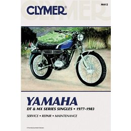 Clymer Repair Manual For Yamaha DT/MX100-400 77-83