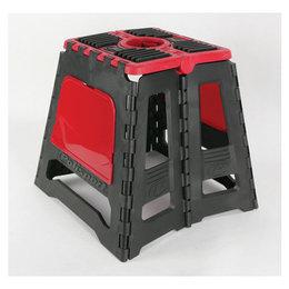 Red Polisport Folding Offroad Moto Stand Universal