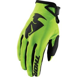 Thor Mens Sector MX Gloves Green