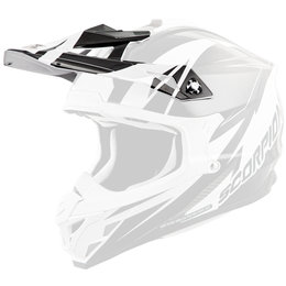 Scorpion VX-35 Krush Replacement Visor Peak MX/Offroad Helmet Accessory White
