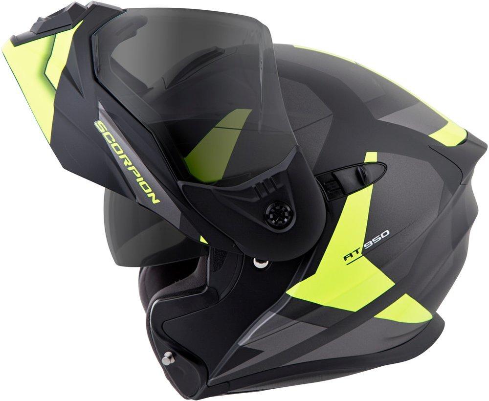 Full Face Cruiser Helmets >> $289.95 Scorpion EXO-AT950 NeoCon Modular Helmet #991520