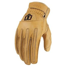 Tan Icon 1000 Collection Rimfire Leather Gloves