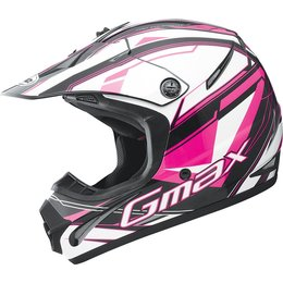 GMax Youth Girls 46.2Y Traxxion Helmet Pink