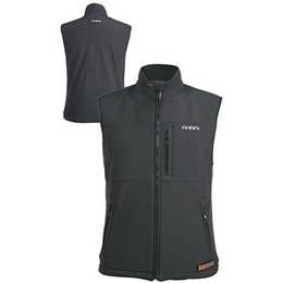 Black Mobile Warming Classic Vest