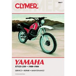 Clymer Repair Manual For Yamaha XT125-250 80-84