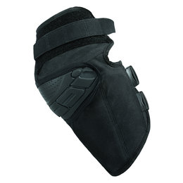 Icon Mens Field Armor Street Riding Knee Guard Each Black Black