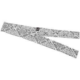 White Paisley Zan Headgear Cooldanna Cooling Headband And Neck Tie 2013