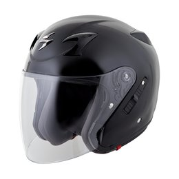 Scorpion EXO-CT220 Open Face Helmet Black