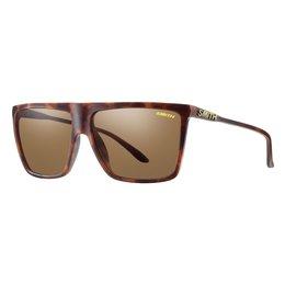 Matte Tortoise/brown Smith Optics Mens Cornice Sunglasses With Polarized Lens 2014 Mt Tortoise Brown