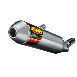FMF Q4 Muffler Hex With Spark Arrestor Stainless Steel For Yamaha WR450F 2014