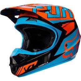 Fox Racing Youth V1 Falcon MX Motocross Helmet Black