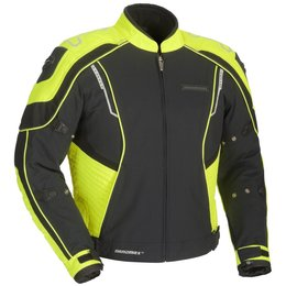 Black, Hi-vis Yellow Fieldsheer Mens Shadow Textile Jacket 2013 Black Hi-vis Yellow