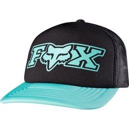 Fox Racing Womens Vapors Snapback Adjustable Trucker Hat Black