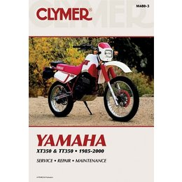 Clymer Repair Manual For Yamaha XT350 TT350 XT/TT-350 85-00
