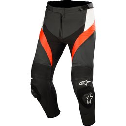 Alpinestars Mens Missile Armored Perforated Leather Pants Black